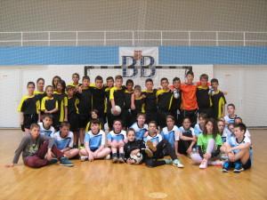 Balatonboglár-Pétervására közös futball